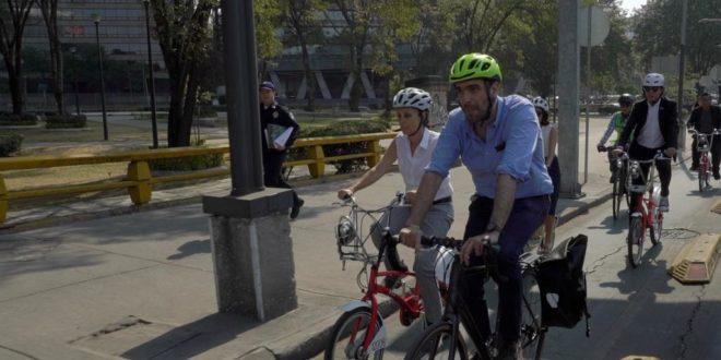 Invierte CDMX 251 mdp en infraestructura para uso de bicis como transporte