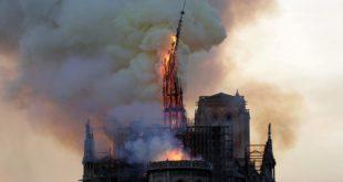 México expresa su solidaridad por incendio en catedral de Notre Dame
