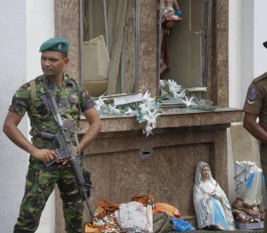 Atentados en Sri Lanka dejan 207 muertos y más de 500 heridos