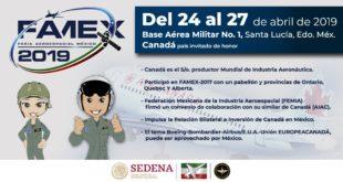 Realizará Sedena nueva edición de la Feria Aeroespacial México