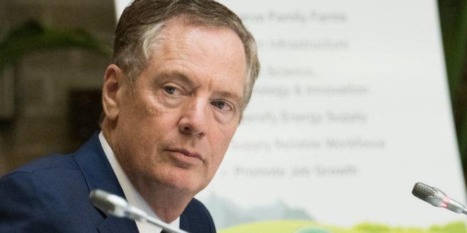 Veo un amplio apoyo para el T-MEC en el Congreso, afirma Robert Lighthizer