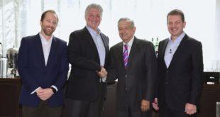 Gran entusiasmo por México entre inversionistas, dice AMLO tras reunión con banqueros