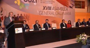 Renovarán gobierno de SLP e inversión privada zona industrial del estado