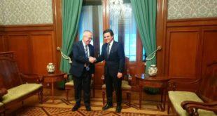 Urzúa se reúne con nuevo titular del IMSS