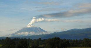 Exhala Popocatépetl columna de más de 4 kilómetros con rastros de ceniza