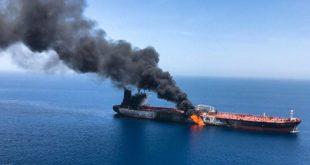 Culpa Mike Pompeo a Irán por ataque a buques en Golfo Pérsico