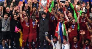Liverpool logra su sexto título en Champions League