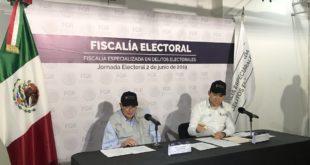 Fepade recibe cinco denuncias relevantes por jornada electoral
