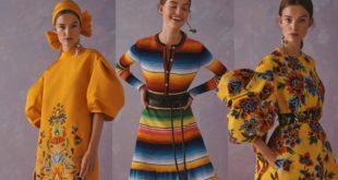 Acusa Cultura a Carolina Herrera de plagiar diseños de pueblos originarios de México, indígenas
