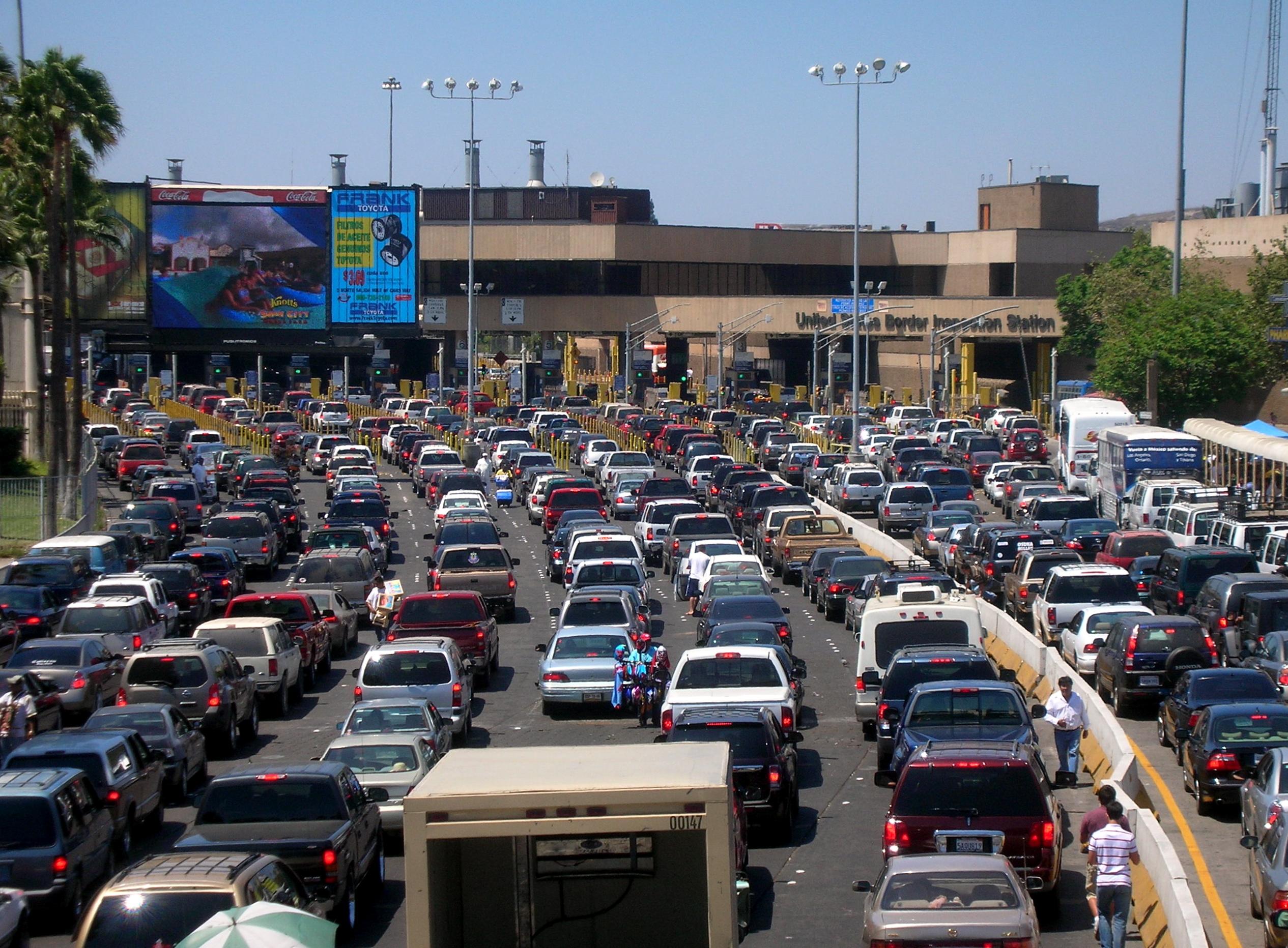 SCT contempla nuevo cruce en la frontera entre Tijuana y San Diego viajes