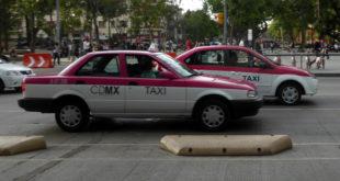 Comienza a disiparse protesta de taxistas en CDMX
