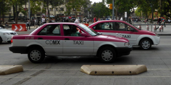 Comienza a disiparse protesta de taxistas en CDMX, créditos
