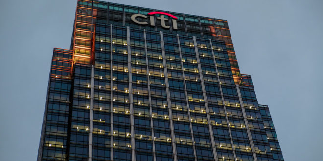 Citi, calificaciones