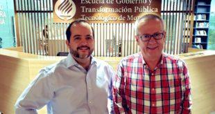 Regresa Urzúa a su alma máter; dará clases en el Tec de Monterrey