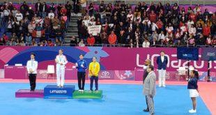 Paula Fregoso da a México la primera medalla de Oro en los Panamericanos