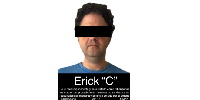Detiene FGR a Erick Cervantes Murillo, involucrado en caso Oceanografía