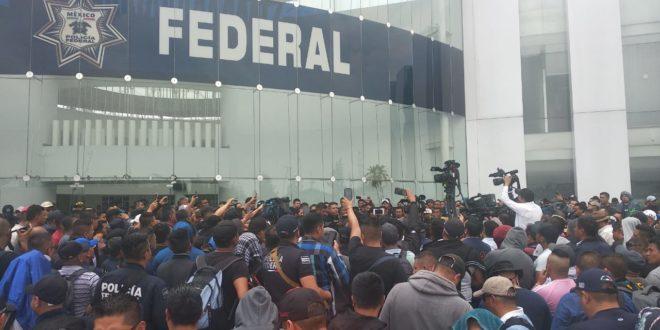 Sentimiento de inseguridad aumentaría con protesta de Policía Federal: IP, policías federales