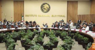INE aprueba 5 mil 239 mdp para partidos políticos en 2020