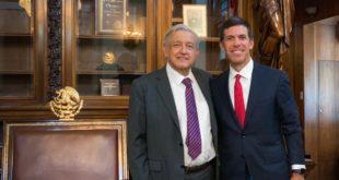 AMLO se reúne con CEO de Goldman Sachs