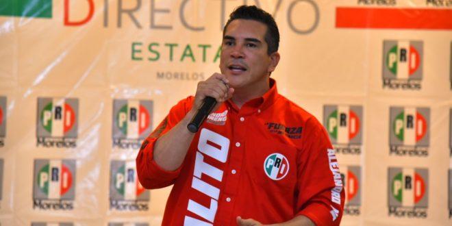 Alejandro Moreno es elegido como dirigente nacional del PRI