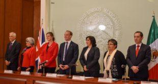 Renuevan México y Reino Unido pacto de inversión por mil 500 mdp