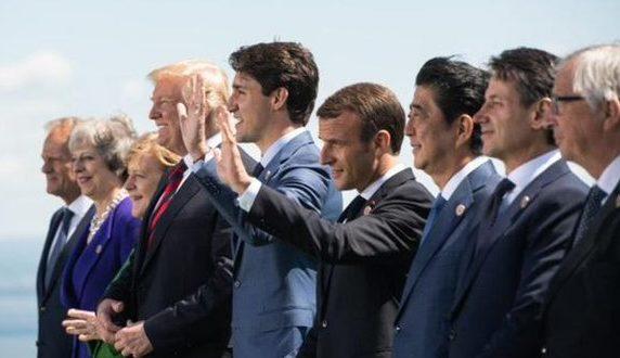 Inicia la cumbre de los líderes del G7 en Biarritz en un clima de tensiones