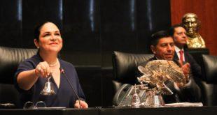 La segunda es la vencida: Mónica Fernández es elegida presidenta del Senado