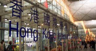 Aeropuerto de Hong Kong cancela todos los vuelos del lunes por protestas