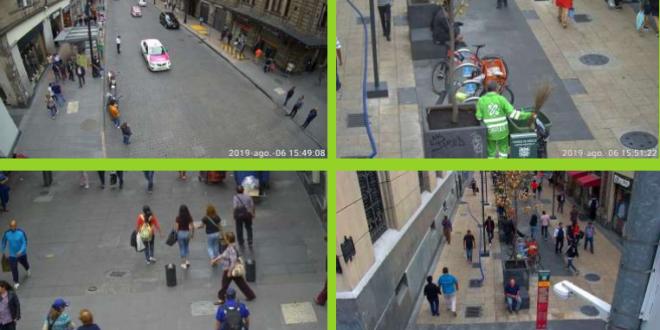 Colocarán cámaras de visión completa para vigilar a la CDMX
