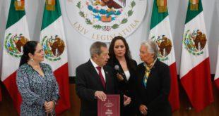 Entrega Olga Sánchez Primer Informe de Gobierno al Congreso