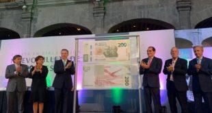 Presenta Banxico nuevo billete de 200 pesos y aplicación móvil