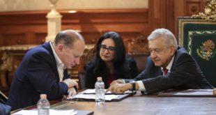 Se reúnen AMLO y Arturo Herrera con ejecutivos de HSBC