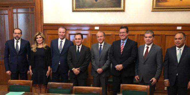 Gobernador de SLP se reúne con el secretario de Hacienda