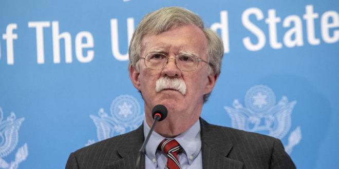Pide Trump la renuncia de su asesor de seguridad, John Bolton