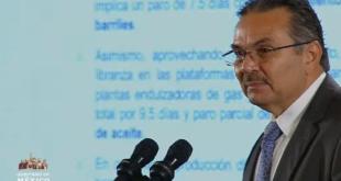 Producción petrolera cerrará 2019 en un millón 778 mil barriles: Romero Oropeza