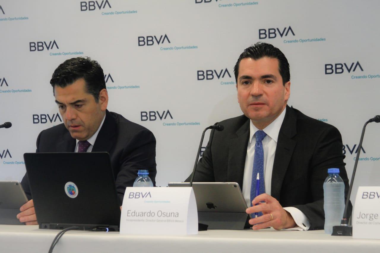 Urge inversión pública y privada para impulsar el crecimiento de la economía: BBVA
