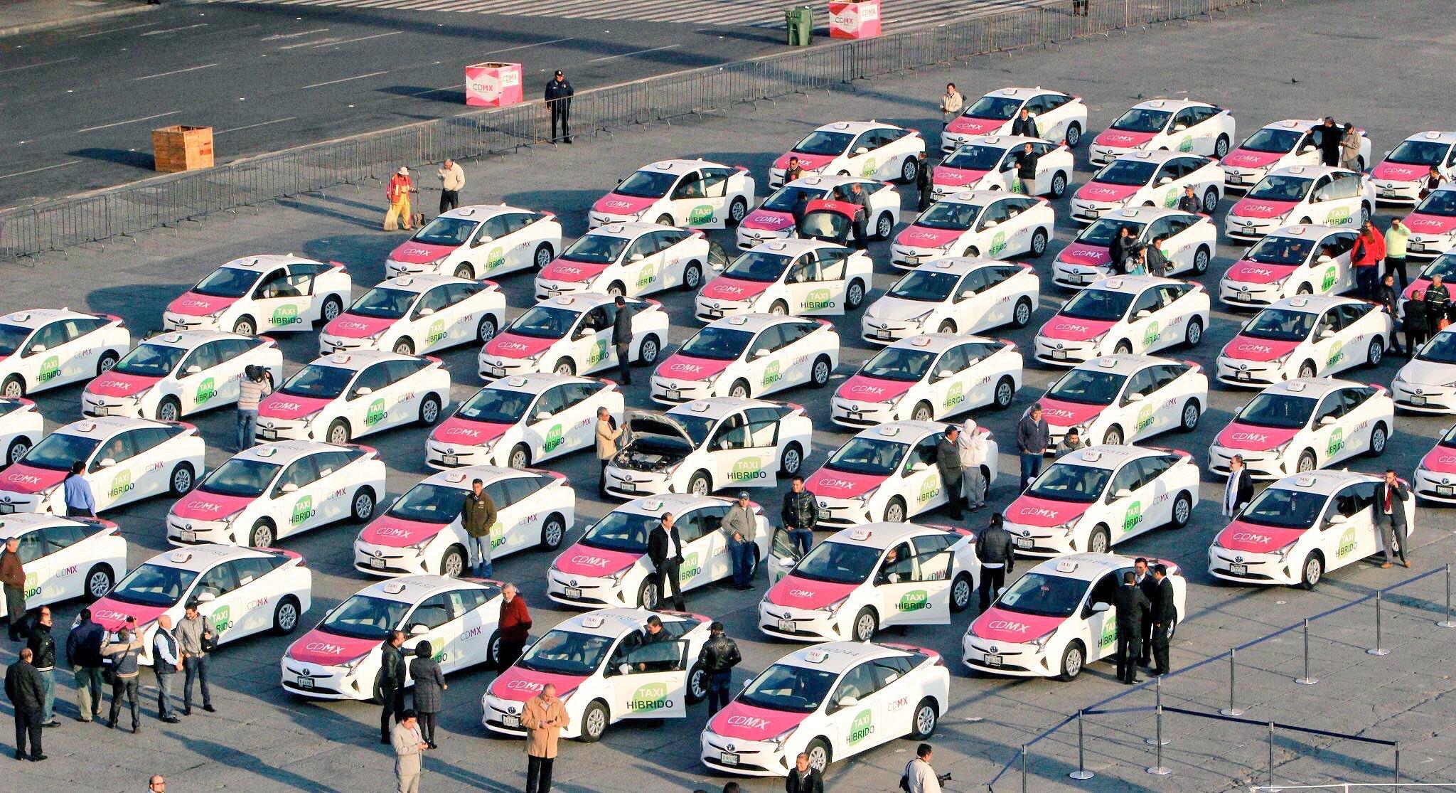 Taxistas abrirán 2020 con otra movilización masiva, taxis