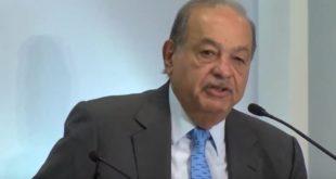 Ya hacía falta solucionar el problema de las factureras: Carlos Slim, IDEAL