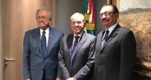 Gobernador de SLP se reúne con Jiménez Espriú