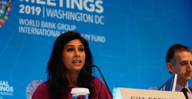 Reitera FMI 'desaceleración sincronizada'; descarta recesión global