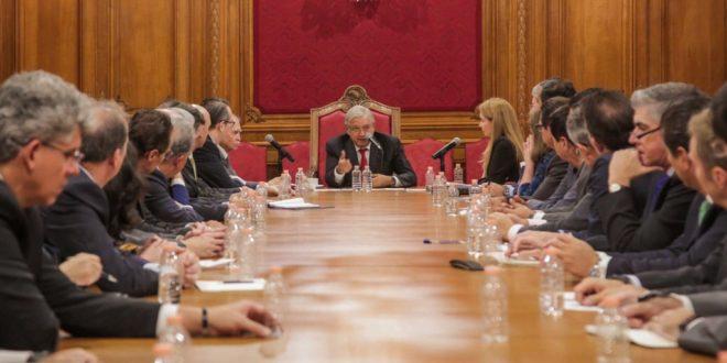 AMLO se reúne (de nuevo) con empresarios en Palacio Nacional