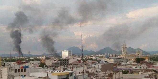 Terror en Culiacán por oleada de bloqueos y balaceras en plena calle