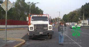 Transportistas protestan frente a Diputados; accesos a la CDMX sin bloqueos