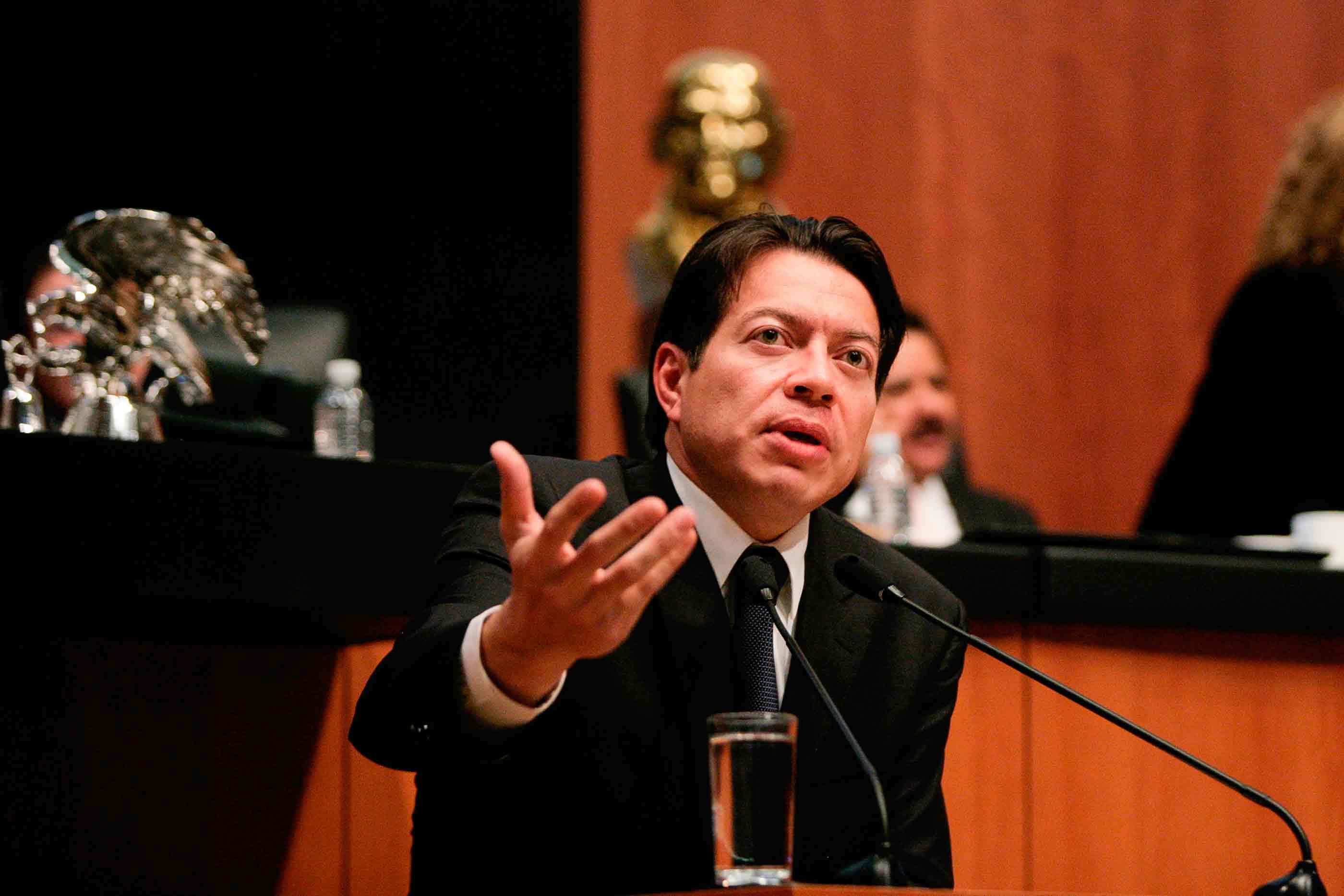 Recorte al INE no es revanchismo, asegura Mario Delgado
