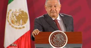 Ofrece gobierno intervención en caso Televisa - Grupo Alemán, conferencia