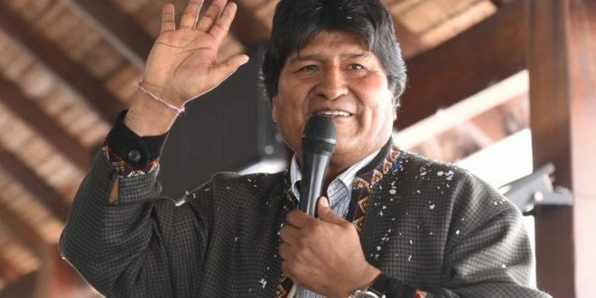 México dará asilo político a Evo Morales
