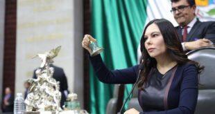 Se aprobará el presupuesto aunque sea desde sede alterna, asegura Laura Rojas