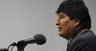 Evo Morales renuncia a presidencia de Bolivia