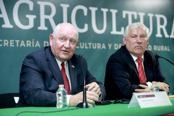 Confía el secretario de agricultura de EU en pronta ratificación del T-MEC