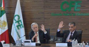 Certificados de Energía Limpia mantendrán tarifas por debajo de la inflación, asegura CFE